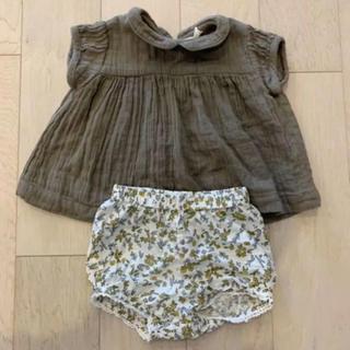 コドモビームス(こども ビームス)のlittle cotton clothes ブラウス&かぼちゃパンツ(シャツ/カットソー)