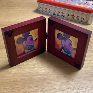 ディズニー(Disney)のディズニー2001年 フロリダ ディズニーワールド フォトフレーム 未使用!!(写真額縁)