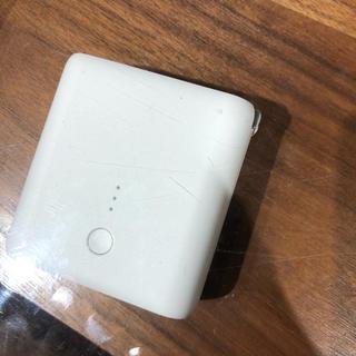 ムジルシリョウヒン(MUJI (無印良品))のanker 無印良品 eバッテリー機能付き充電器(バッテリー/充電器)