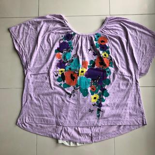 スカラー(ScoLar)のスカラー ドルマン型シャツ(Tシャツ(半袖/袖なし))