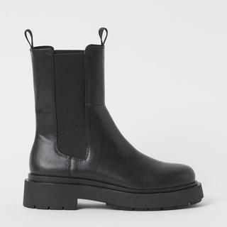 エイチアンドエム(H&M)の新品 ハイプロファイルチェルシーブーツ very 37サイズ(ブーツ)