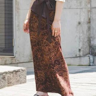 カスタネ(Kastane)の人気完売品!!kastane♥カスタネ♥ペイズリーIラインスカート(ロングスカート)
