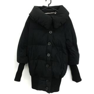 ダブルスタンダードクロージング(DOUBLE STANDARD CLOTHING)のダブルスタンダードクロージング 黒 冬物(ダウンコート)