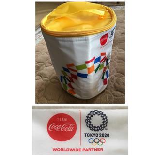 コカコーラ(コカ・コーラ)のドラム型★保冷バッグ(ノベルティグッズ)