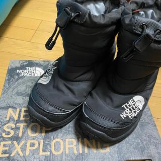 ザノースフェイス(THE NORTH FACE)のTHE NORTH FACE kids 19cm(ブーツ)