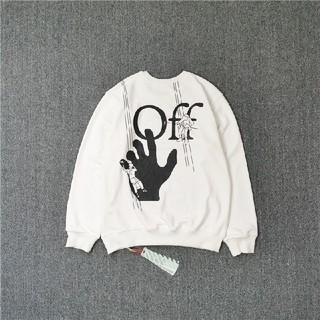 オフホワイト(OFF-WHITE)のoff-white オフホワイト  スウェット  男女兼用   S48(スウェット)