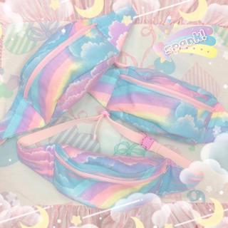 Spank! - spank! 虹のウエストポーチ スパンク モナスカスバナナ