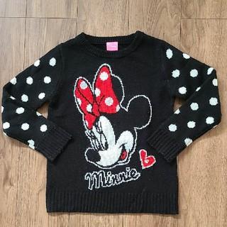 ディズニー(Disney)の【ミニーちゃん】セーター ニット(ニット)