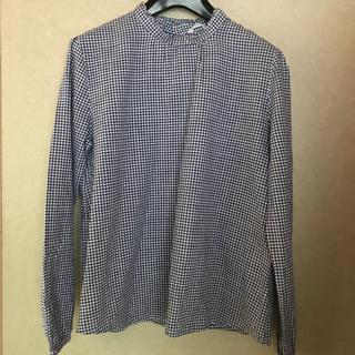 ショコラフィネローブ(chocol raffine robe)のスタンドカラー ブラウス(シャツ/ブラウス(長袖/七分))