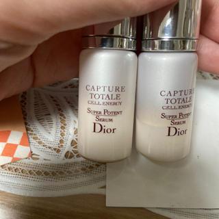 クリスチャンディオール(Christian Dior)のカプチュール  dior ラグジュアリー ミニチュアギフト 美容液(美容液)