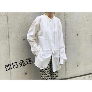 TODAYFUL - 人気商品TODAYFUL タックドレスシャツ ホワイト