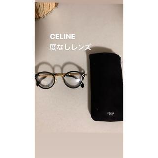 セリーヌ(celine)のCELINE glasses sun sglasses BLACK GOLD(サングラス/メガネ)