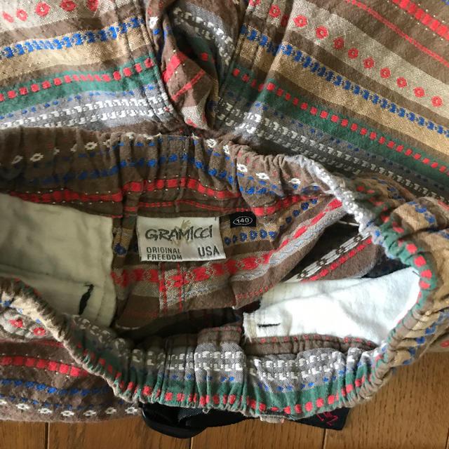 DENIM DUNGAREE(デニムダンガリー)のDD&グラミチハーフパンツ キッズ/ベビー/マタニティのキッズ服男の子用(90cm~)(パンツ/スパッツ)の商品写真