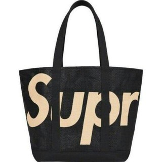 Supreme - Supreme Raffia Tote 黑