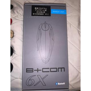 最新ファームウェア適用済 使用1年 サインハウス b+com b+com 6x
