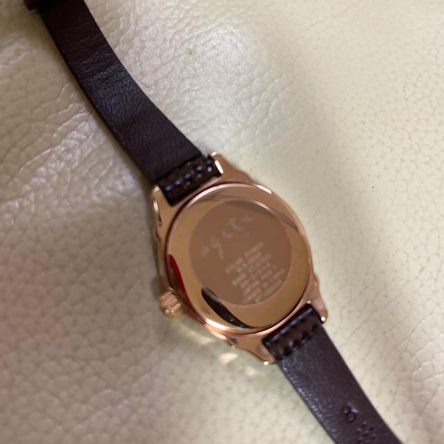agete(アガット)のアガット  腕時計 ソーラー レディースのファッション小物(腕時計)の商品写真