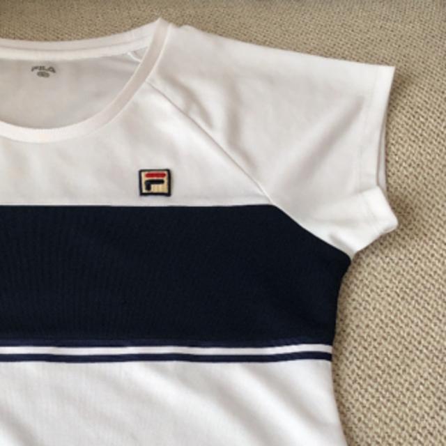 FILA(フィラ)のフィラ レディーステニスウエア Lサイズ スポーツ/アウトドアのテニス(ウェア)の商品写真