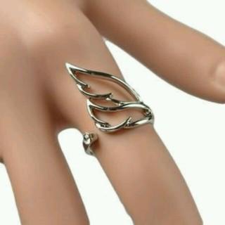 156天使の翼 ファッションリング 指輪(リング(指輪))