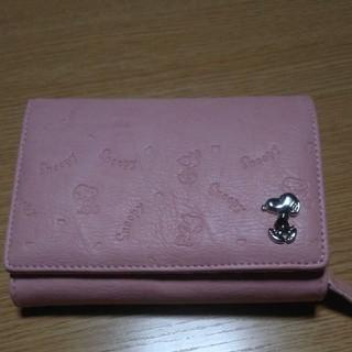 スヌーピー(SNOOPY)のスヌーピー 二つ折り財布(財布)