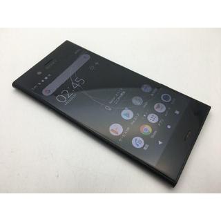 SONY - SIMフリー au XPERIA XZ1 SOV36 ブラック◆美品◆333