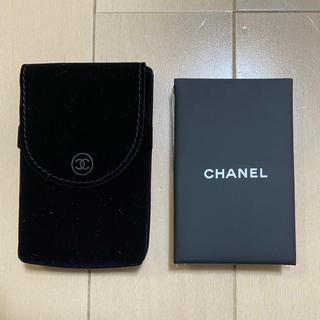 CHANEL - シャネル オイルコントロールペーパー&ミラー
