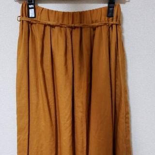 フォーティーファイブアールピーエム(45rpm)の美品■パラスパレス■リネン スカート■45(ロングスカート)