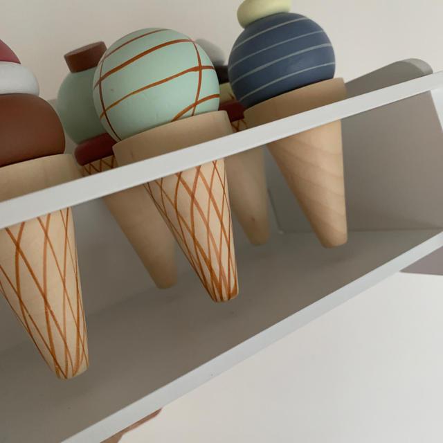 Bonpoint(ボンポワン)の【傷あり】kids concept アイスクリーム  キッズ/ベビー/マタニティのおもちゃ(知育玩具)の商品写真