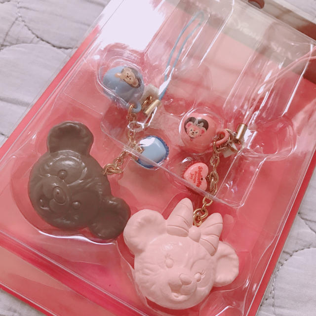 ダッフィー(ダッフィー)のduffy ♥︎ ペアストラップ エンタメ/ホビーのおもちゃ/ぬいぐるみ(キャラクターグッズ)の商品写真