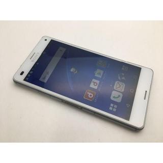ソニー(SONY)のdocomo Xperia Z3 Compact SO-02G極美品 189(スマートフォン本体)