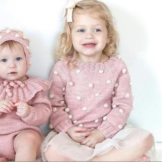 Caramel baby&child  - Kalinka ポンポン♡ ニット カリンカ