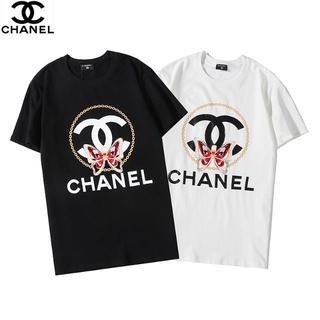 CHANEL - 🉐\2枚7500円/シャネルCHANEL半袖Tシャツ黒白#07