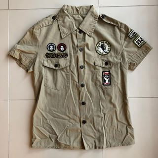 ヒステリックグラマー(HYSTERIC GLAMOUR)のヒステリックグラマー ミニタリーワッペンシャツ(Tシャツ(半袖/袖なし))