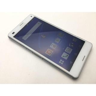 ソニー(SONY)のdocomo Xperia Z3 Compact SO-02G上美品 249(スマートフォン本体)