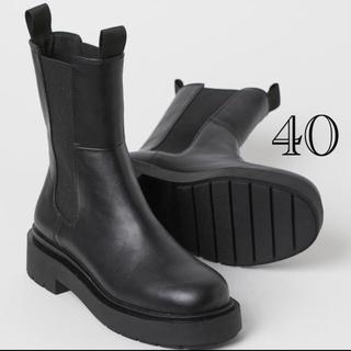 エイチアンドエム(H&M)のH&Mブーツ40(ブーツ)