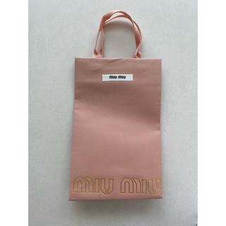 ミュウミュウ(miumiu)のmiumiu ミュウミュウ ショッパー(ショップ袋)