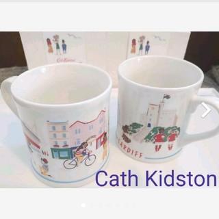 キャスキッドソン(Cath Kidston)のキャスキッドソン ペア新品 マグカップ イギリス柄(グラス/カップ)