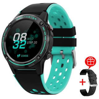 スマートウォッチ ランニング 活動量計 多機能 防水(腕時計(デジタル))