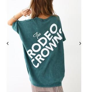 ロデオクラウンズワイドボウル(RODEO CROWNS WIDE BOWL)のRODEO CROWNS WIDE BOWL 加工ニット ワンピース(ひざ丈ワンピース)