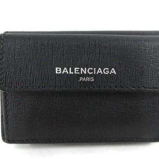 バレンシアガ(Balenciaga)のバレンシアガ 2つ折り財布美品  410133 黒(財布)