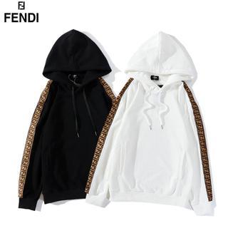 FENDI - 2枚14000円FENDI302#フェンディパーカーユニセックス長袖