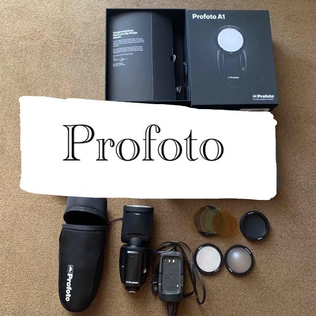 Nikon(ニコン)の美品ストロボ Profoto プロフォト A1 AirTTL-N (Nikon用 スマホ/家電/カメラのカメラ(ストロボ/照明)の商品写真