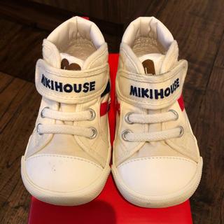 ミキハウス(mikihouse)の【ミキハウス】スニーカー 13.5(スニーカー)