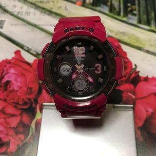 ジーショック(G-SHOCK)の カシオ ベビーG ソーラー デジアナ レディース 腕時計 BGA-2100ST(腕時計)