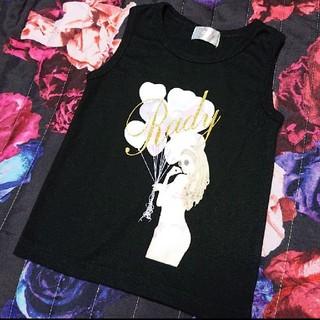 レディー(Rady)のちびRady タンクトップ 100(Tシャツ/カットソー)