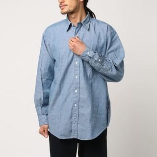 ジャーナルスタンダード(JOURNAL STANDARD)のJ.S.HOMESTEAD シャンブレー シャツ オーバーサイズ 日本製(シャツ)