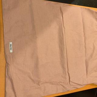 ミュウミュウ(miumiu)のミュウミュウ 保存袋 新品未使用(ショップ袋)