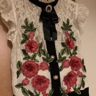 【美品】an バラキャバクラドレス