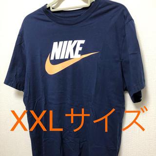 ナイキ(NIKE)のナイキNIKE TシャツネイビーXXL スウォッシュロゴ(Tシャツ/カットソー(半袖/袖なし))