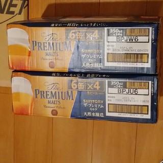 サントリー(サントリー)のサントリー プレミアム モルツ 350ml×24本 2ケース(ビール)