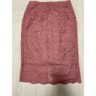 GU - GU レーススカート レースタイトスカート